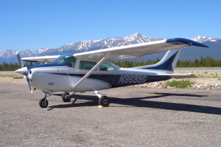 Our C182P Plane