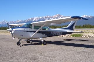 Our C182P Plane